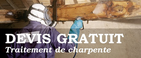 Devis traitement charpente